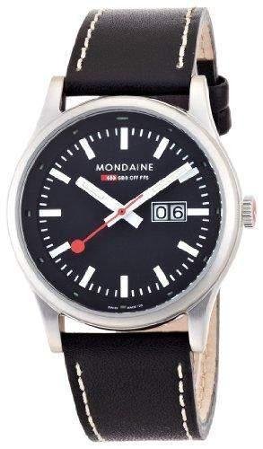 Mondaine Herren-Uhren Quarz Analog A6693030814SBB