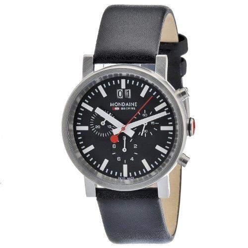 MONDAINE Herren-Armbanduhr Analog Quarz Leder A6903030414SBB