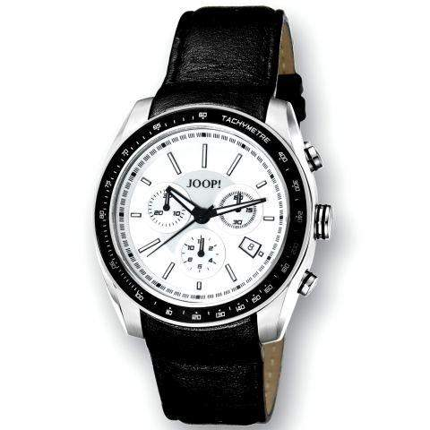 Joop! Herren-Armbanduhr XL Analog Quarz Leder JP100431002U