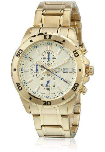 Citizen Analog Champagne Dial Mens Watch - AN3502-58P
