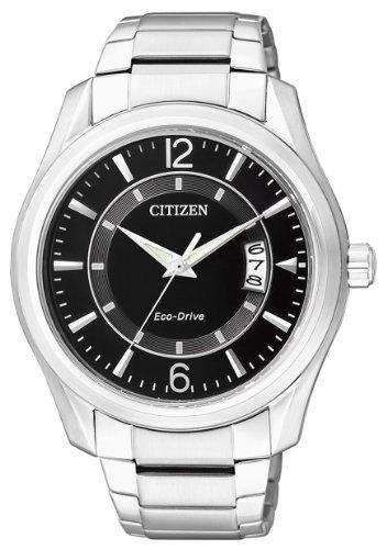 Citizen Herren-Armbanduhr Analog Quarz Edelstahl AW1030-50E