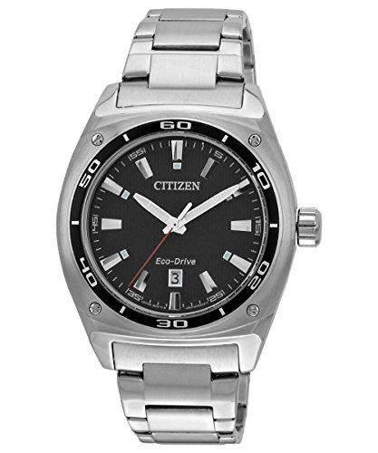 Citizen Herren-Armbanduhr XL Analog Quarz Edelstahl AW1040-56E