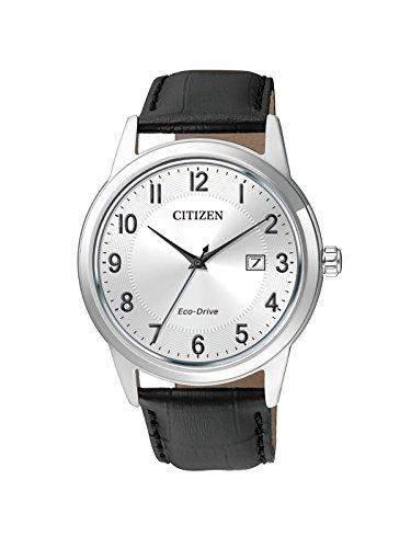Citizen Herren-Armbanduhr Analog Quarz Leder AW1231-07A