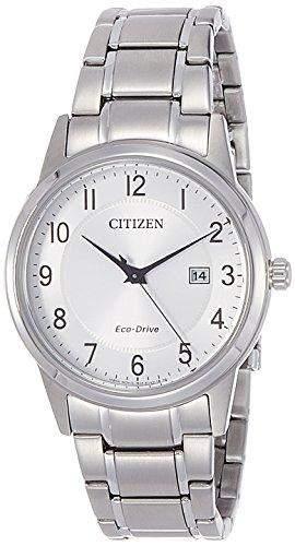 Citizen Herren-Armbanduhr Analog Quarz Edelstahl AW1231-58B