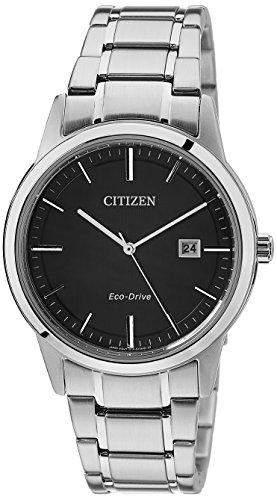 Citizen Herren-Armbanduhr XL Analog Quarz Edelstahl AW1231-58E