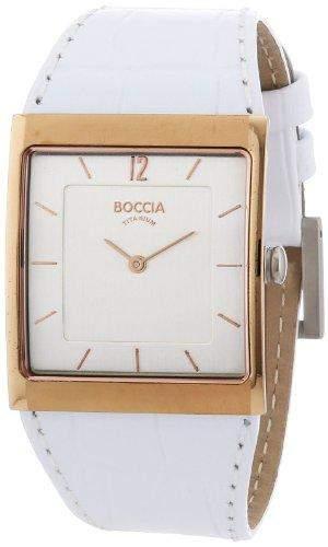 Boccia Damen-Armbanduhr Mit Lederarmband Trend 3143-02
