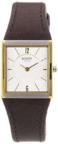 Boccia Damen-Armbanduhr Mit Lederarmband Trend 3148-02