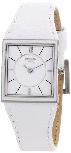 Boccia Damen-Armbanduhr Mit Lederarmband Trend 3148-03