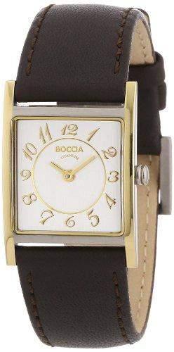 Boccia Damen-Armbanduhr Mit Lederarmband Style 3163-02