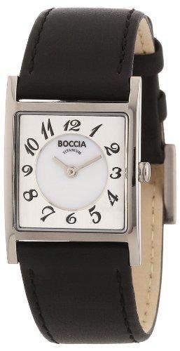 Boccia Damen-Armbanduhr Mit Lederarmband Style 3163-03
