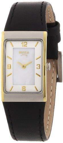 Boccia Damen-Armbanduhr Mit Lederarmband Style 3186-03