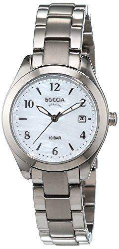 Boccia Damen-Armbanduhr XS Analog Quarz Titan 3224-01