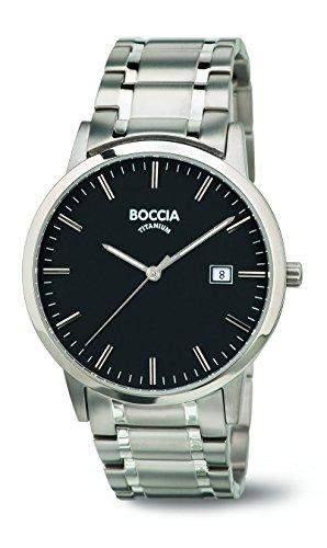 Boccia Herren-Armbanduhr Analog Quarz Titan 3588-03