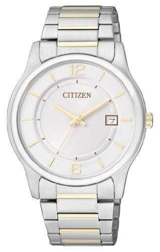 Citizen Herren-Armbanduhr Analog Quarz Edelstahl beschichtet BD0024-53A