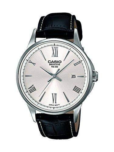 Casio Herren-Armbanduhr Collection Analog Quarz Schwarz BEM-126L-7AVEF