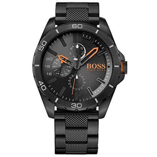 BOSS Orange Herren-Armbanduhr BERLIN Multieye Analog Quarz Edelstahl beschichtet 1513293