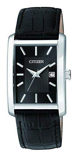 Citizen Herren-Armbanduhr Analog Quarz Leder BH1671-04E