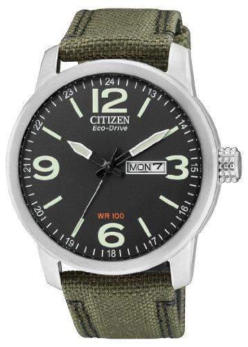 Citizen Herren-Armbanduhr Analog Quarz Nylon BM8470-11EE