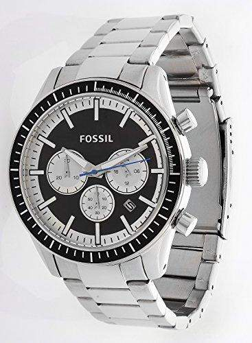 Fossil Herren Uhr Chronograph Armbanduhr Edelstahl BQ1256