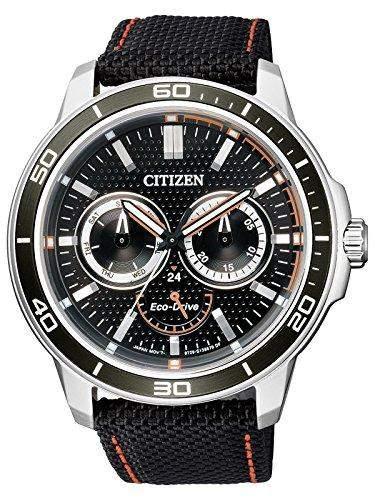 Citizen Herren-Armbanduhr XL Analog Quarz Textil BU2040-05E