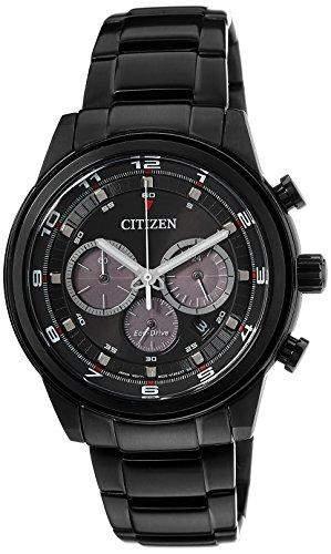 Citizen Herren-Armbanduhr Analog Quarz Edelstahl beschichtet CA4035-57E