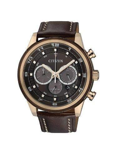Citizen Herren-Armbanduhr Analog Quarz Edelstahl beschichtet CA4037-01W
