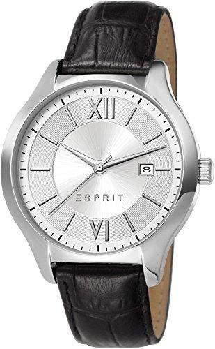Esprit Herren-Armbanduhr Clyde Analog Quarz Leder ES107491003