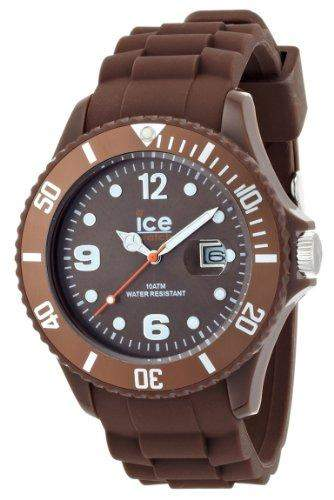 Ice-Watch Herren - Armbanduhr Ice Chocolate Analog Quarz Silikon CTMCBS10