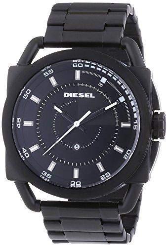 Diesel Herren-Armbanduhr XL Analog Quarz Edelstahl DZ1580