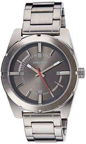 Diesel Herren-Armbanduhr XL Analog Quarz Edelstahl DZ1595