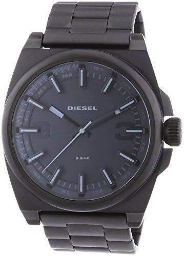 Diesel Herren-Armbanduhr XL Analog Quarz Edelstahl DZ1616