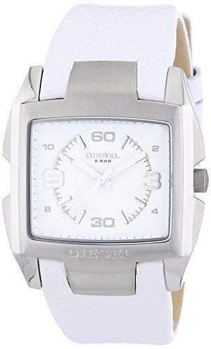 Diesel Herren-Armbanduhr XL Analog Quarz Leder DZ1630