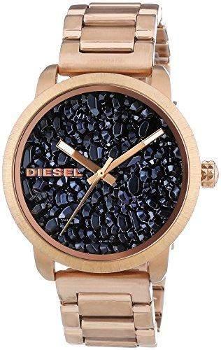 Diesel Damen-Armbanduhr Flare Analog Quarz Edelstahl DZ5427