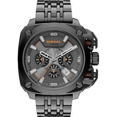 Diesel Herren-Armbanduhr Bamf Analog Quarz Edelstahl DZ7344