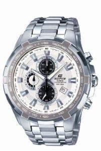 Casio Herren Armbanduhr Edifice Chronograph Quarz Ef-539D-7Avef