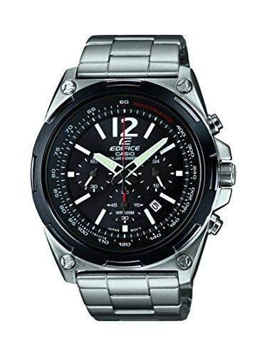 Casio Herren-Armbanduhr EDIFICE Analog Quarz Edelstahl EFR-545SBDB-1BVER