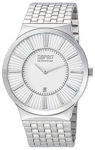 Esprit Herren-Armbanduhr Leodor Silver Analog Quarz Silber EL101381F06