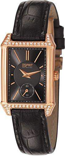 Esprit Damen-Armbanduhr ALKE Analog Quarz Leder EL101992F04