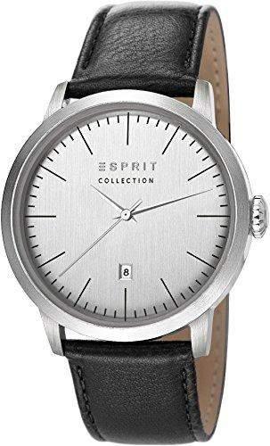 Esprit Herren-Armbanduhr Soter Analog Quarz Leder EL102131F01