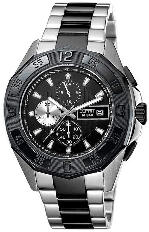 Esprit Herren-Armbanduhr Analog Quarz Edelstahl ES102841005