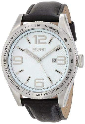 Esprit Herren-Armbanduhr Analog Quarz Leder ES104121002