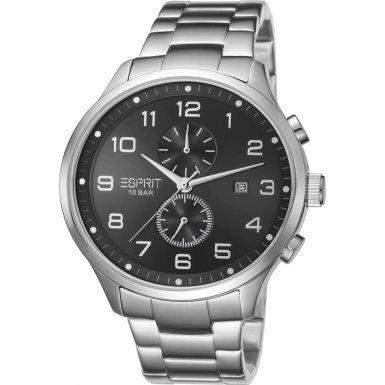 Esprit Herren-Armbanduhr Cerritos Analog Quarz Edelstahl ES105581006