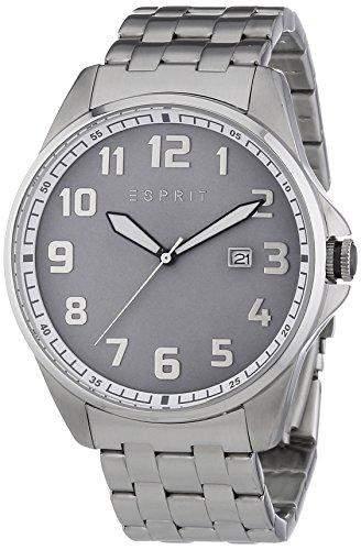 Esprit Herren-Armbanduhr XL Clayton Analog Quarz Edelstahl ES107991003