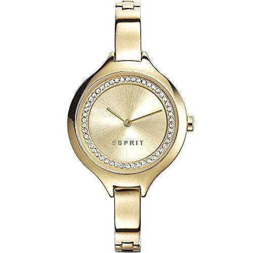 Esprit Damen-Armbanduhr stacy Analog Quarz Edelstahl