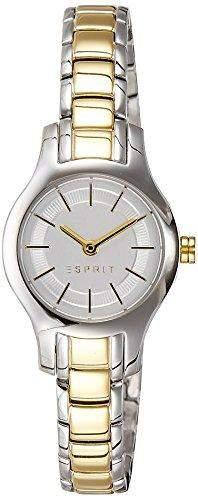 Esprit Damen-Armbanduhr XS Analog Quarz Edelstahl beschichtet ES107082002