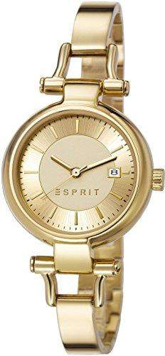 Esprit Damen-Armbanduhr XS Analog Quarz Edelstahl beschichtet ES107632005