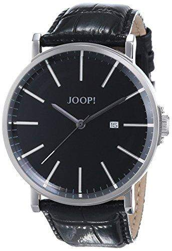 Joop! Herren-Armbanduhr XL Executive Lux Analog Quarz Leder JP101411001