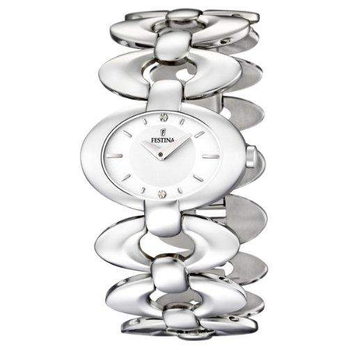 Festina Damen-Armbanduhr Analog Edelstahl F165471