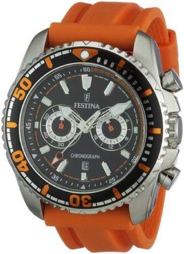 Festina Herren-Armbanduhr XL Analog Quarz Plastik F165742