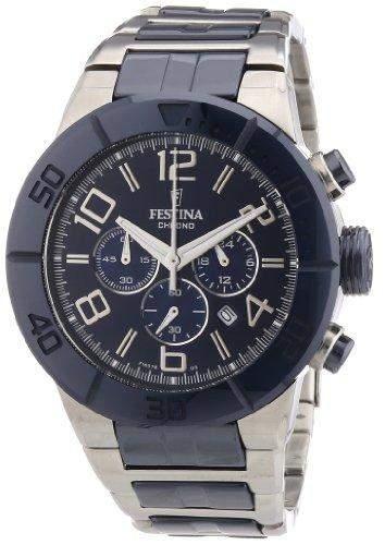Festina Herren-Armbanduhr XL Analog Quarz verschiedene Materialien F165763